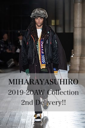 MIHARAYASUHIRO 2019-20AW Collection 2nd Delivery!!