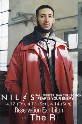 NILøS 19-20AW Collection Reservation Exhibition in The R