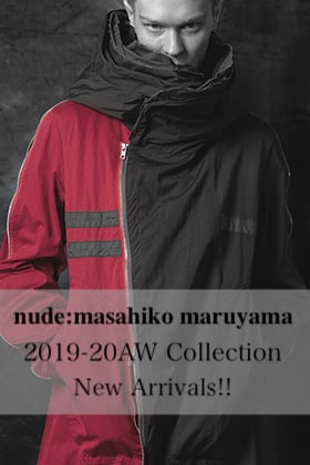 The R New Brand nude:masahiko maruyama 2019-20AW Collection Delivery Start!!