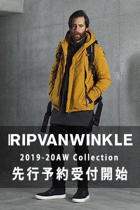 RIPVANWINKLE 19-20AW コレクション先行予約受付開始!