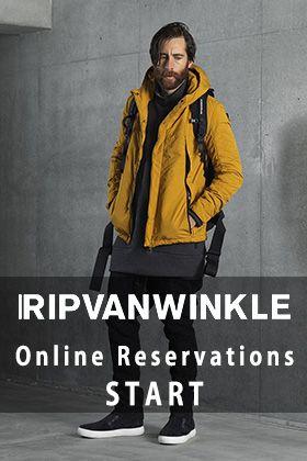 RIPVANWINKLE 19-20AW Online Reservations Start!
