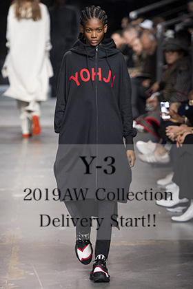 Y-3 2019AW Collection Delivery Start!!