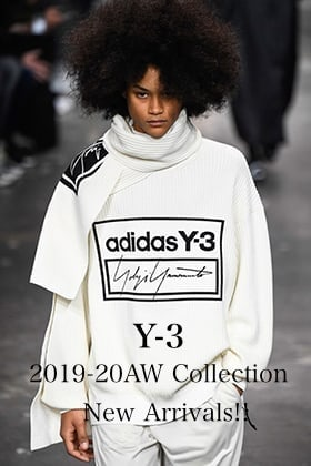 Y-3 2019-20AW Collection New Arrivals!!