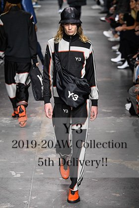 Y-3 2019-20AW Collection 3rd Delivery!!