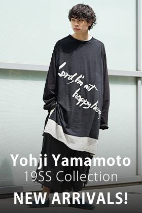 Yohji Yamamoto 19SS 2 Items New Arrivals !!