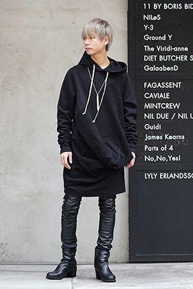 DRKSHDW x FAGASSENT 19SS Black elegant Style