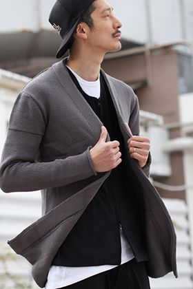 .LOGY kyoto 19SS [ RIPVANWINKLE × CIVILIZED ] Cardigan Mix Style!