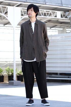 KAZUYUKI KUMAGAI [Crossover Cardigan 2way Shirt Styling!!]