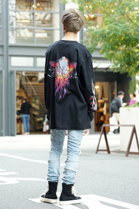 Caviale 19SS Print Long sleeve T-shirt Style