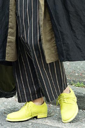 ZIGGY CHEN x GUIDI Yellow Shoes Style
