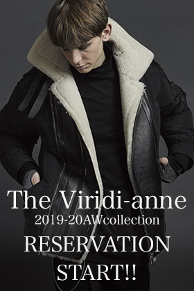 The Viridi-anne 2019-20AWcollection Reservations START!!