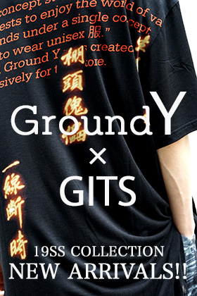 Ground Y × INNOCENCE collaboration item NEW ARRIVALS!!