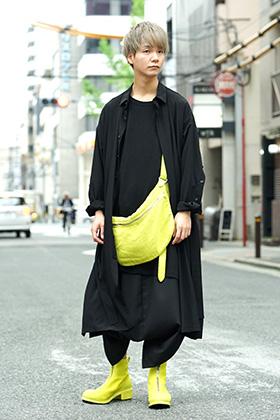 B Yohji Yamamoto & Ground Y & Guidi 19SS Mix styling!!
