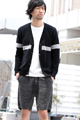 19SS wjk [cotton linen cardigan] summer styling!!!