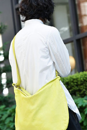 ZIGGY CHEN 19SS x GUIDI Yellow Bag Style
