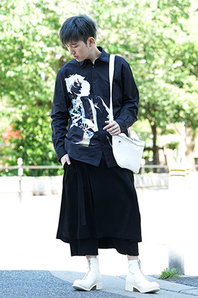 GroundY × INNOCENCE Android shirt style
