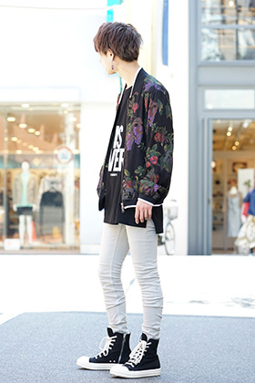DBSS Spring Summer Blouson styling