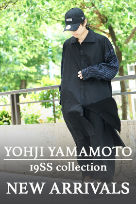 Yohji Yamamoto 19SS Last Delivery !!