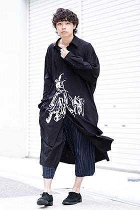 Yohji Yamamoto 19SS Wrap Pants Style