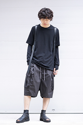DEVOA 19SS Cutsew & Short Pants Recommended Style