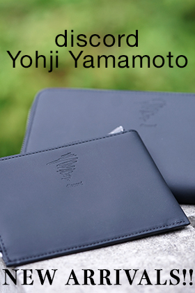 discord Yohji Yamamoto NEW ARRIVALS!!
