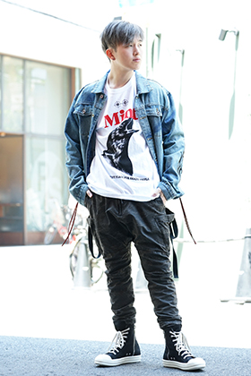 CAVIALE × MINT CREW × The Viridi-anne Military Street style!!