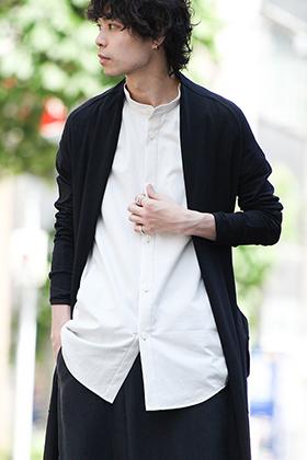 DEVOA 19SS Long cardigan × HAKAMA Pants Style