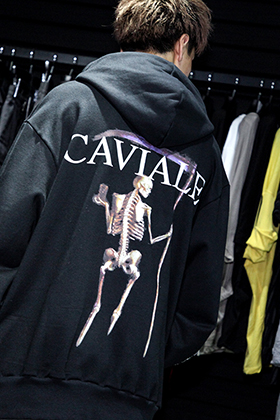 CAVIALE x The R LIMITED HOODIE Styling