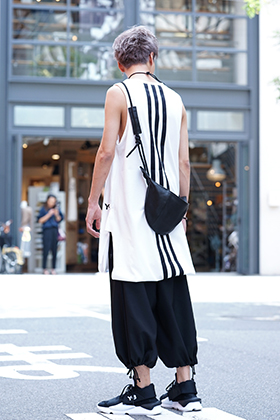 Y-3 Drawstring Long Tank Top Style