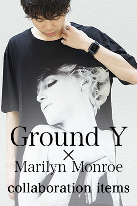 Ground Y x Marilyn Monroe collaboration items Sales Start!!