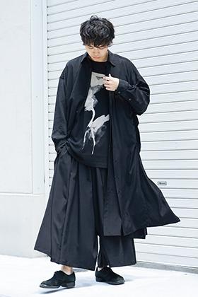 B Yohji Yamamoto Deformation Black Style
