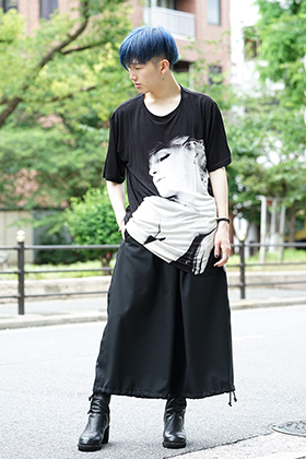 Ground Y × Marilyn Monroe Collaboration  cut & sewn styling