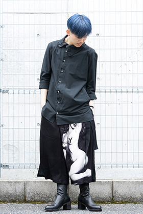 Ground Y × Marilyn Monroe collaboration Wrap belt pants styling!!