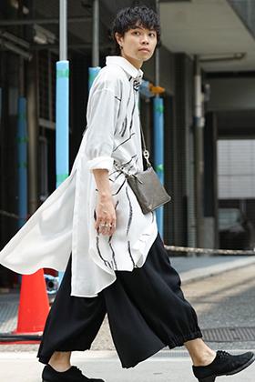 Yohji Yamamoto x BYY 19AW Back Style Coordinates
