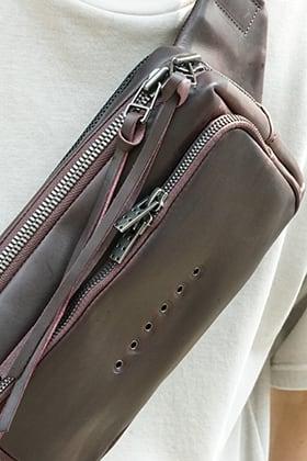 DEVOA Waist bag Guidi calf leather