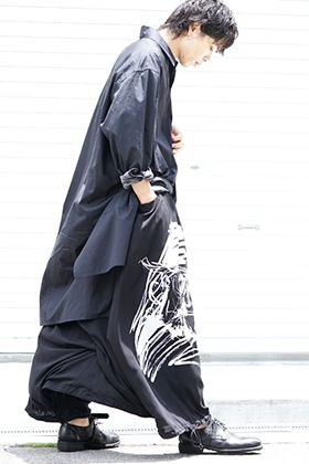 B Yohji Yamamoto 19-20AW Combination of patterns
