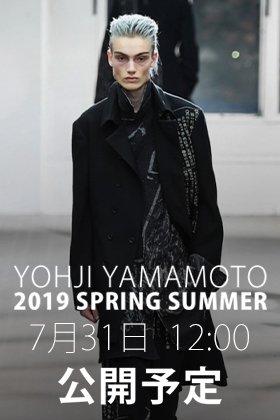 Yohji yamamoto 19-20AW 7月31日正午12時より販売開始!