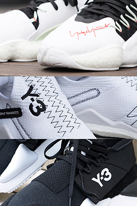 Y-3 2019SS Hi-tech sneakers Collection Introduction