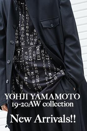 Yohji Yamamoto 19-20AW New Arrival