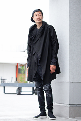 .LOGY kyoto [ JULIUS COVERED MODS COAT ] RECOMMEND STYLE!