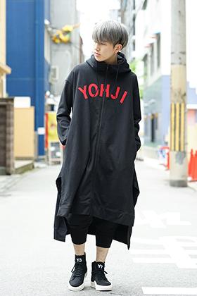 Y-3 [ YOHJI ] CLASSICAL HOODIE STYLING !!