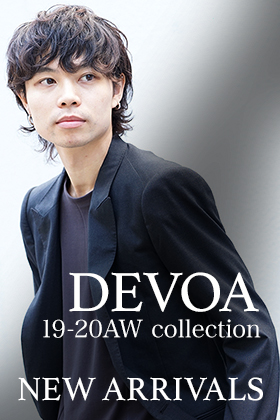 DEVOA 19-20AW 2nd Delivery !!