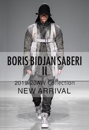 New Brand Boris Bidjan Saberi 19-20AW 1st Delivery
