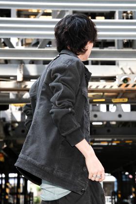 Boris Bidjan Saberi 19-20AW Denim Jacket Style