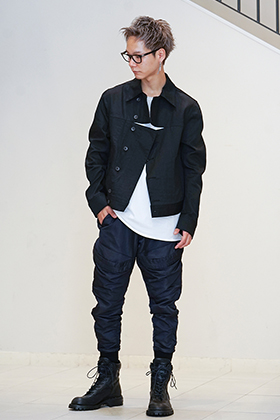 JULIUS 19FW DIVIDED Jacket styling !!