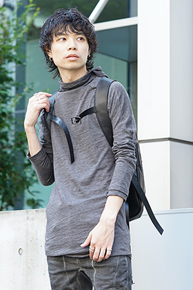 D.HYGEN 19-20AW Charcoal Color Urban Style