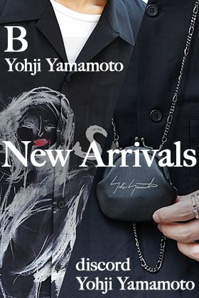 discord B Yohji Yamamoto 19-20AW New Arrivals