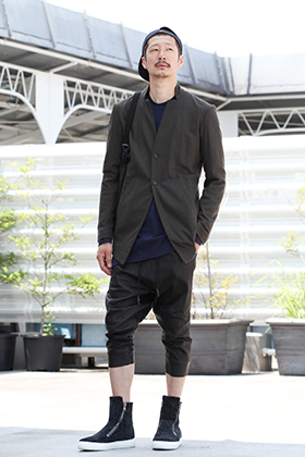 RIPVANWINKLE 19AW【 CROPPED LEATHER PANTS 】STYLING!!!