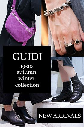 GUIDI 19-20AW New Arrival