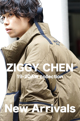 ZIGGY CHEN 19-20AW Collection New Arrival!